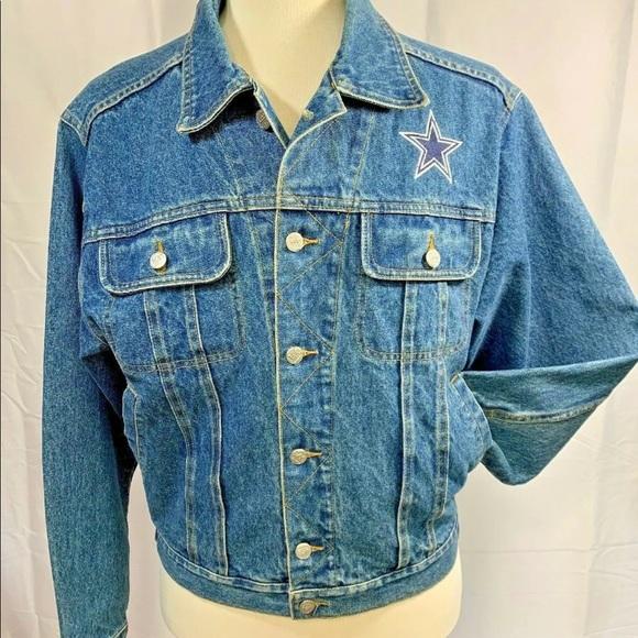 Lee Sport NFL Dallas Cowboys Denim Jacket …medium